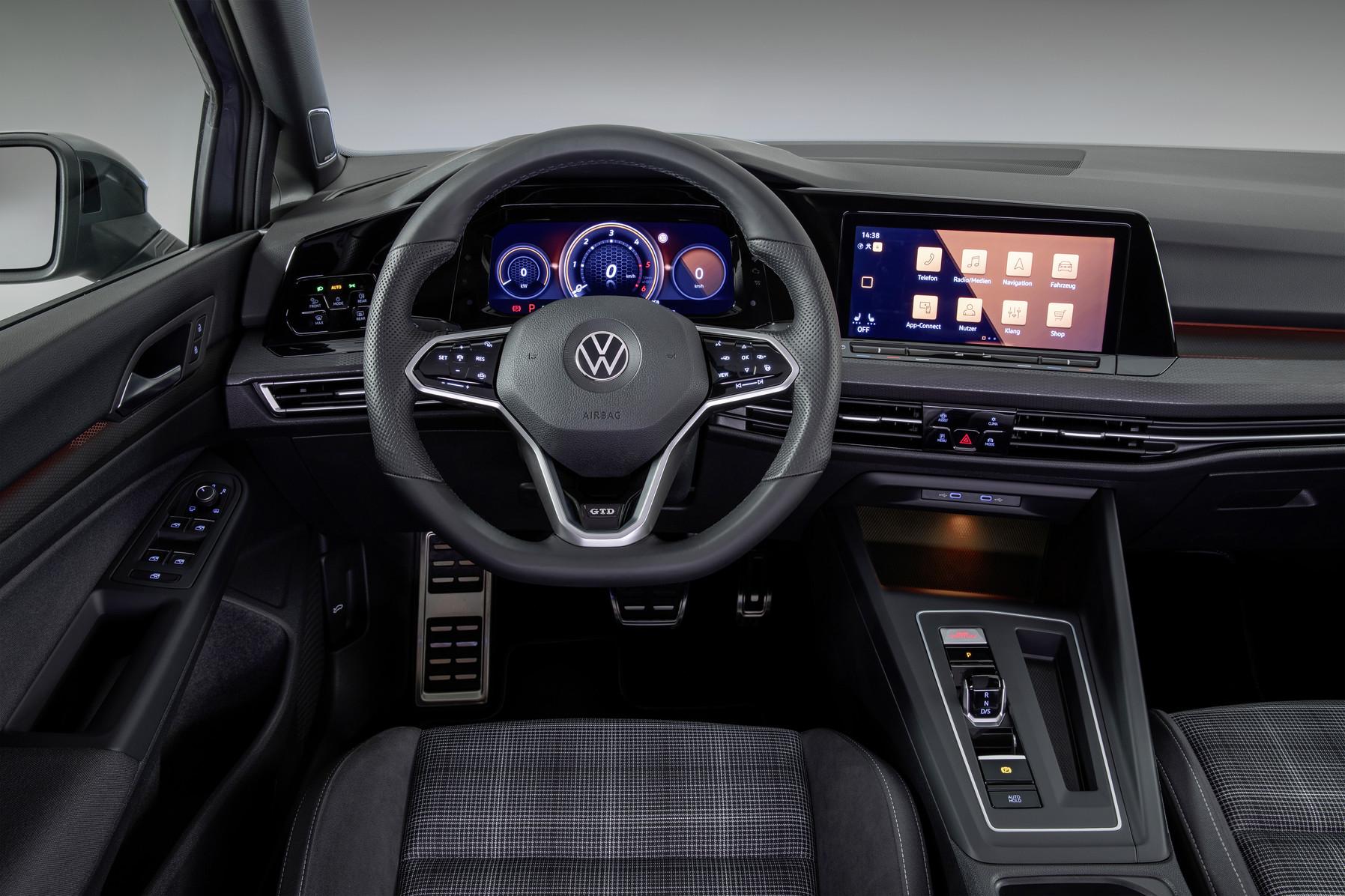 Mk8 Volkswagen Golf GTD Steering Wheel