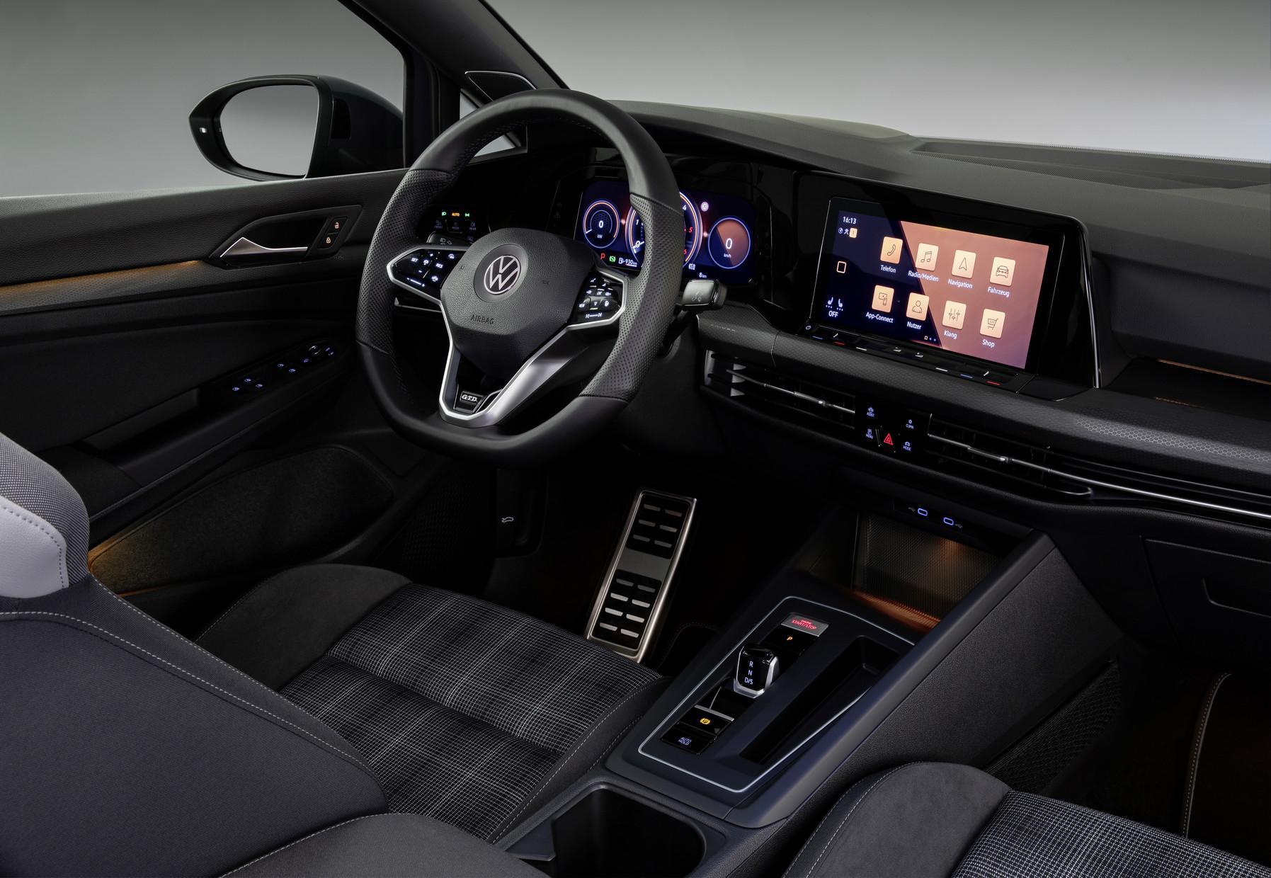 Mk8 Volkswagen Golf GTD Interior
