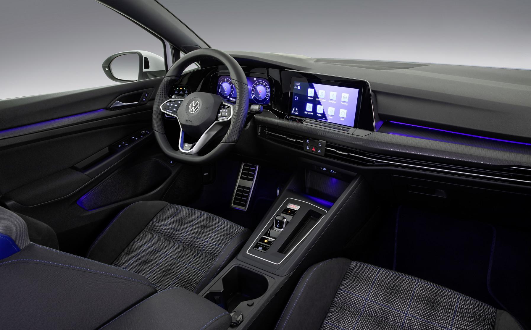 Mk8 Volkswagen Golf GTE Interior