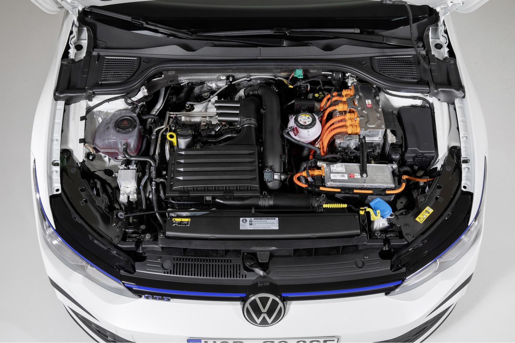 Mk8 Volkswagen Golf GTE Engine