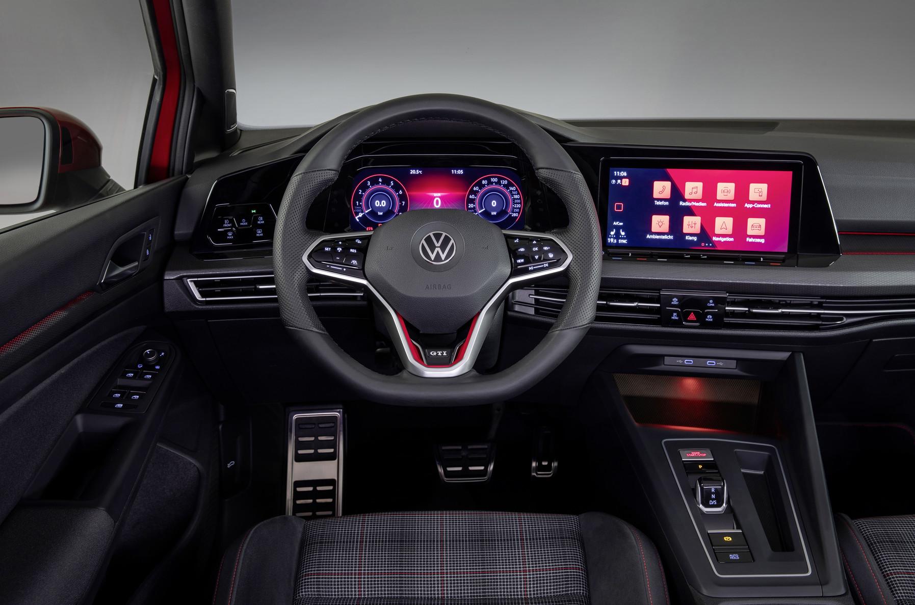 Mk8 Volkswagen Golf GTI Steering Wheel