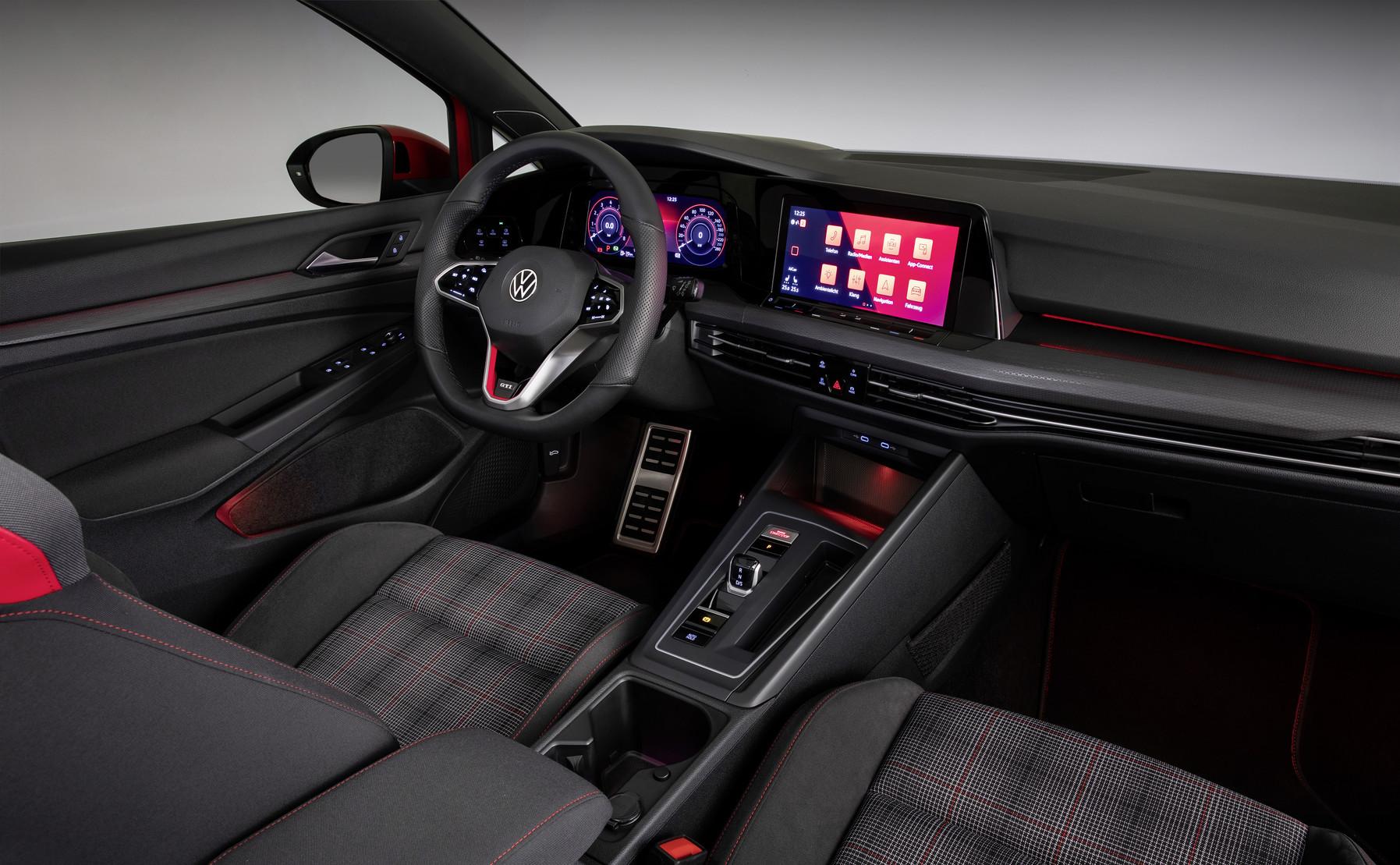 Mk8 Volkswagen Golf GTI Dashboard