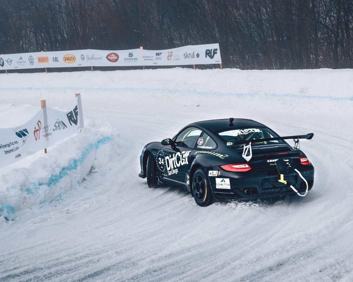 GP Ice Race 2020 Drifts