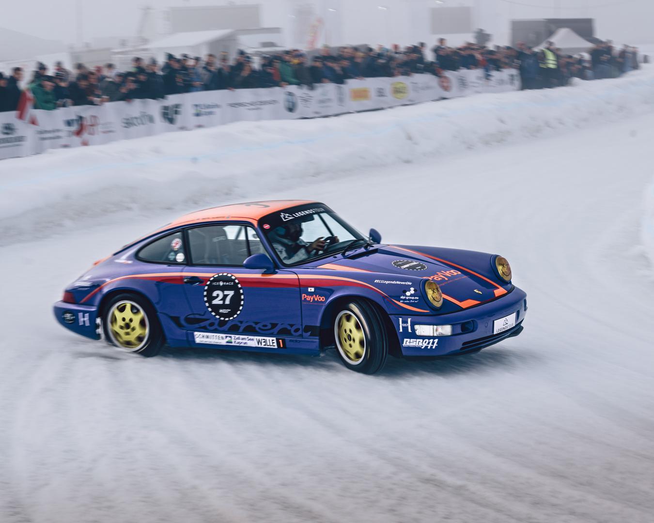 GP Ice Race 2020 Porsche