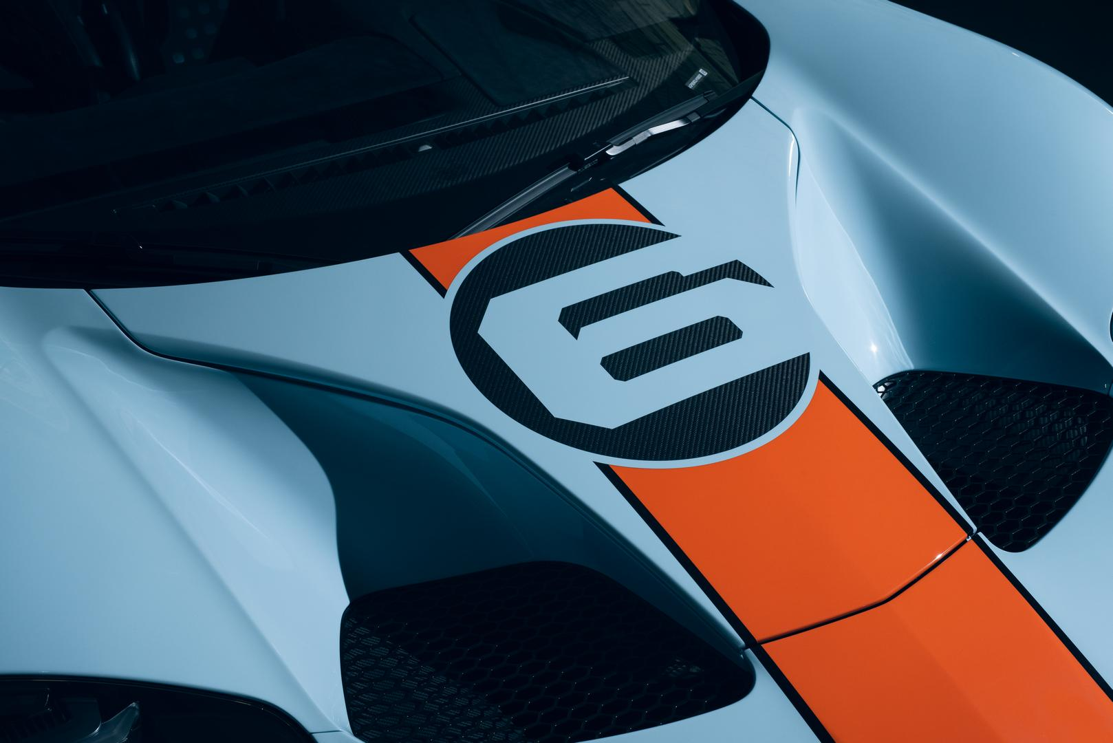 Gulf Blue Ford GT