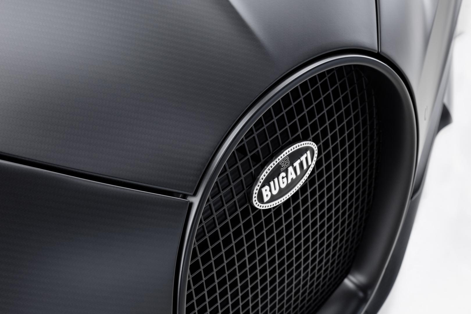 Bugatti Badge Black