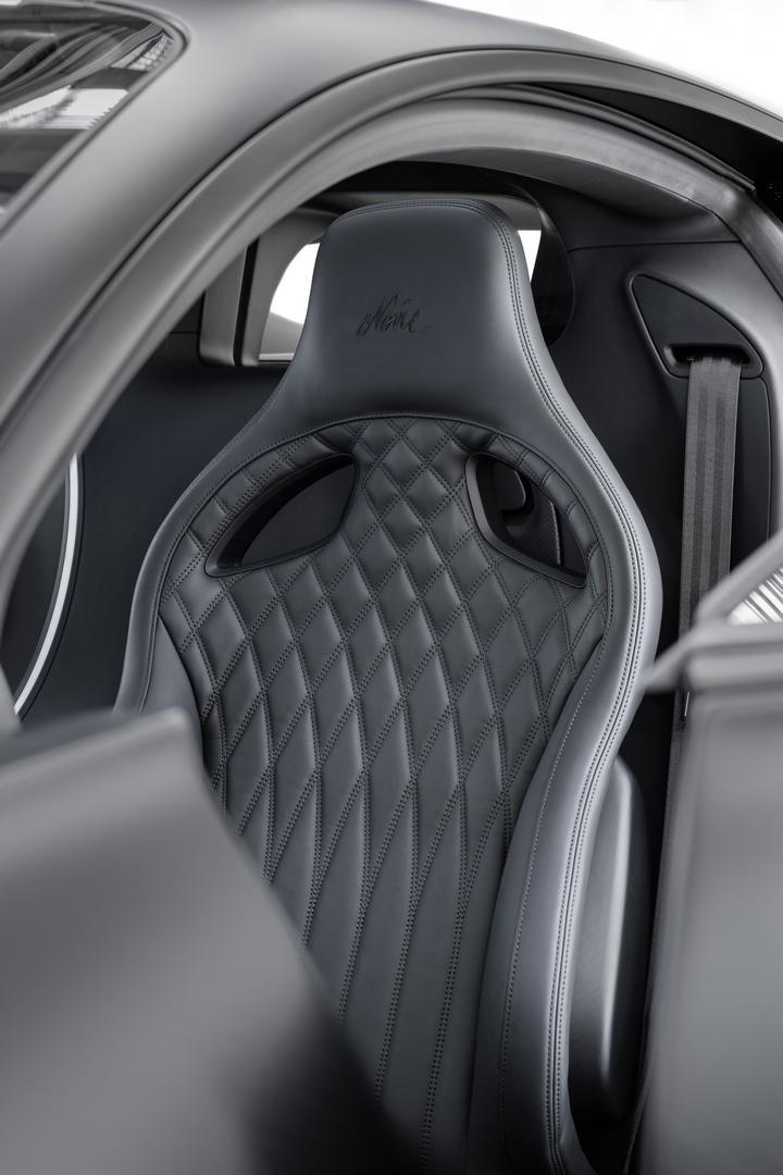 Black Seat Bugatti