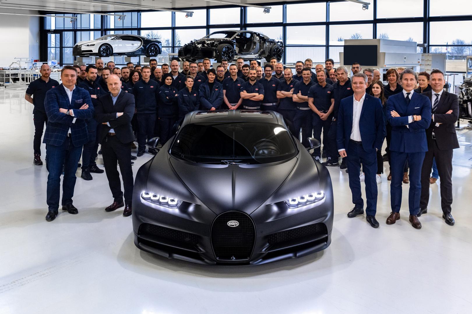 250th Bugatti Chiron