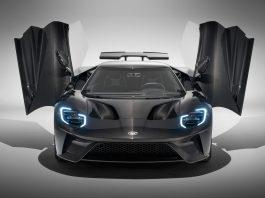 Liquid Carbon Ford GT Doors