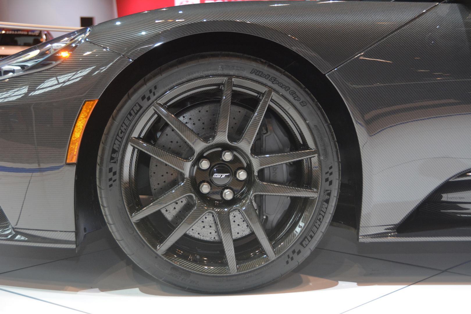 Liquid Carbon Ford GT Wheels