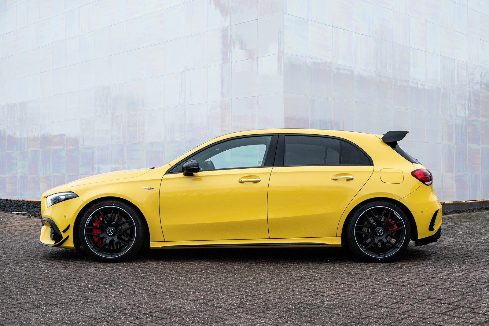 Mercedes-AMG A45 S Side View