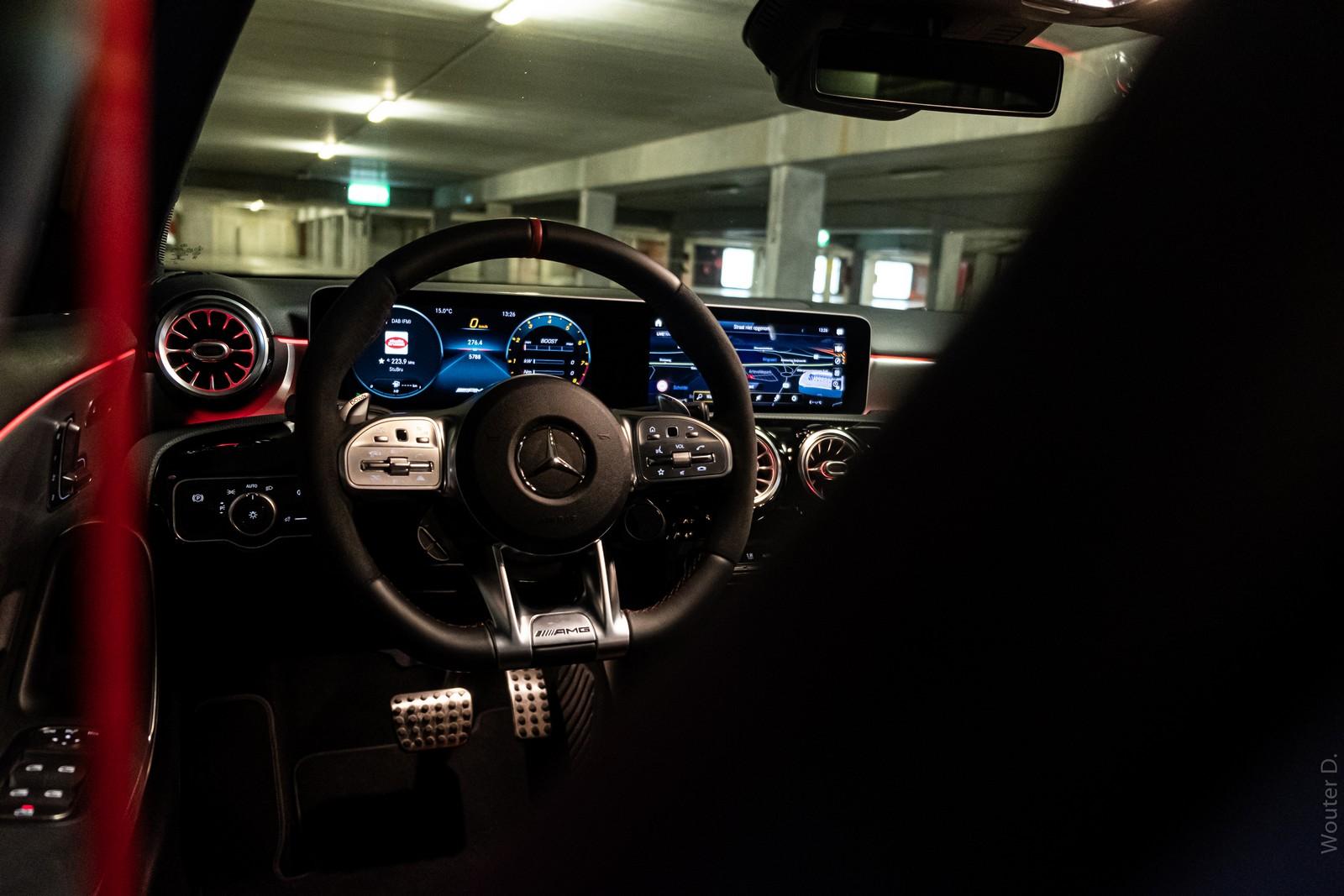 Mercedes-AMG A45 S Steering Wheel