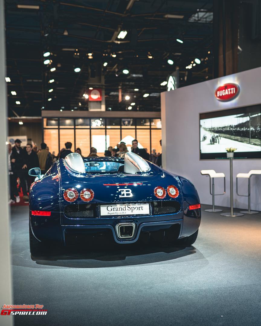 Retromobile 2020 Bugatti Veyron