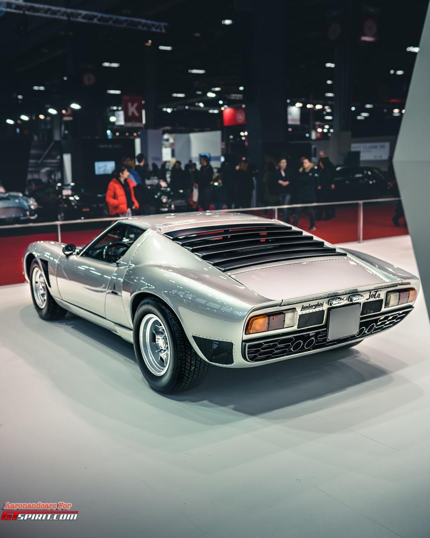 Retromobile 2020 Lamborghini Miura