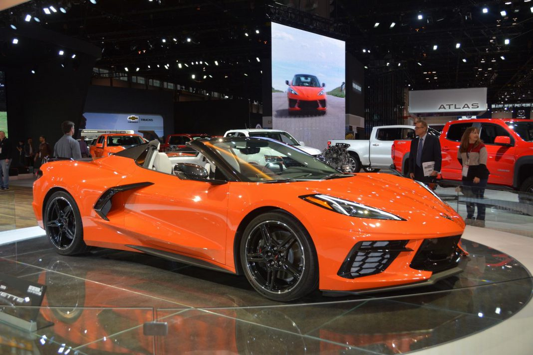 Sebring Orange Corvette C8 Convertible