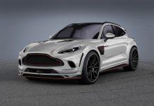 White Aston Martin DBX