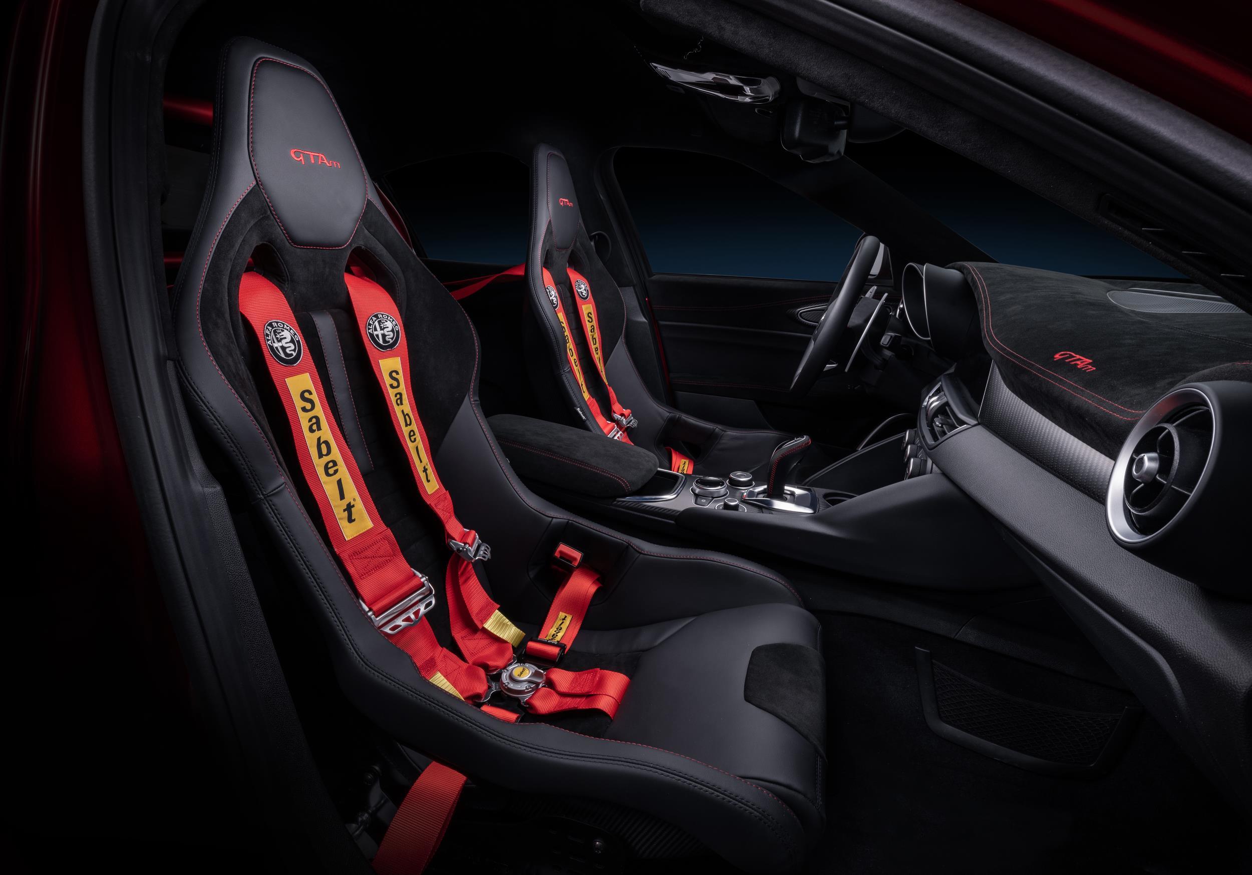 Alfa Romeo GTA Seats