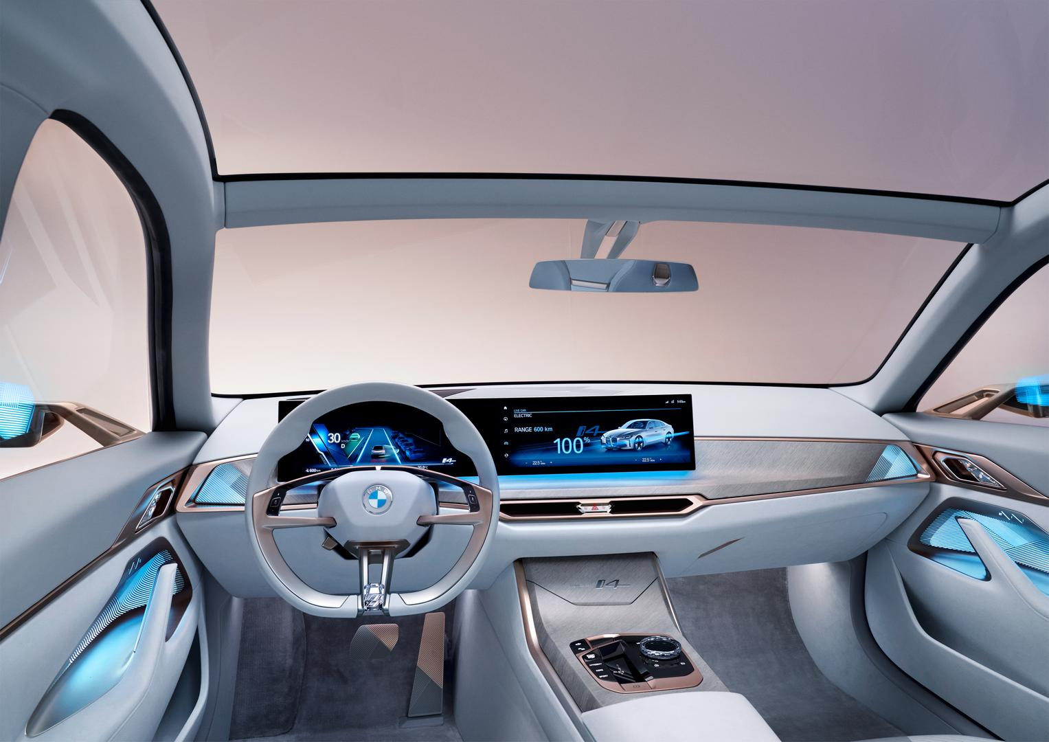 BMW Concept i4 Cabin