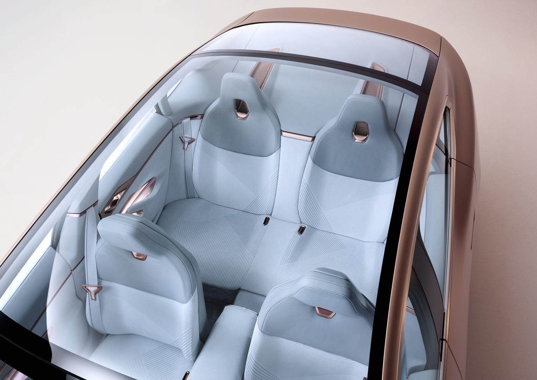 BMW Concept i4 Seats