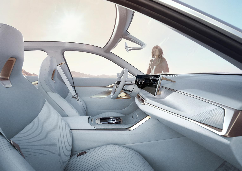 BMW Concept i4 White Interior
