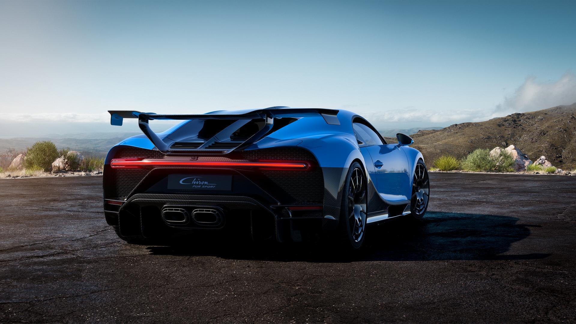 Bugatti Chiron Pur Sport Rear