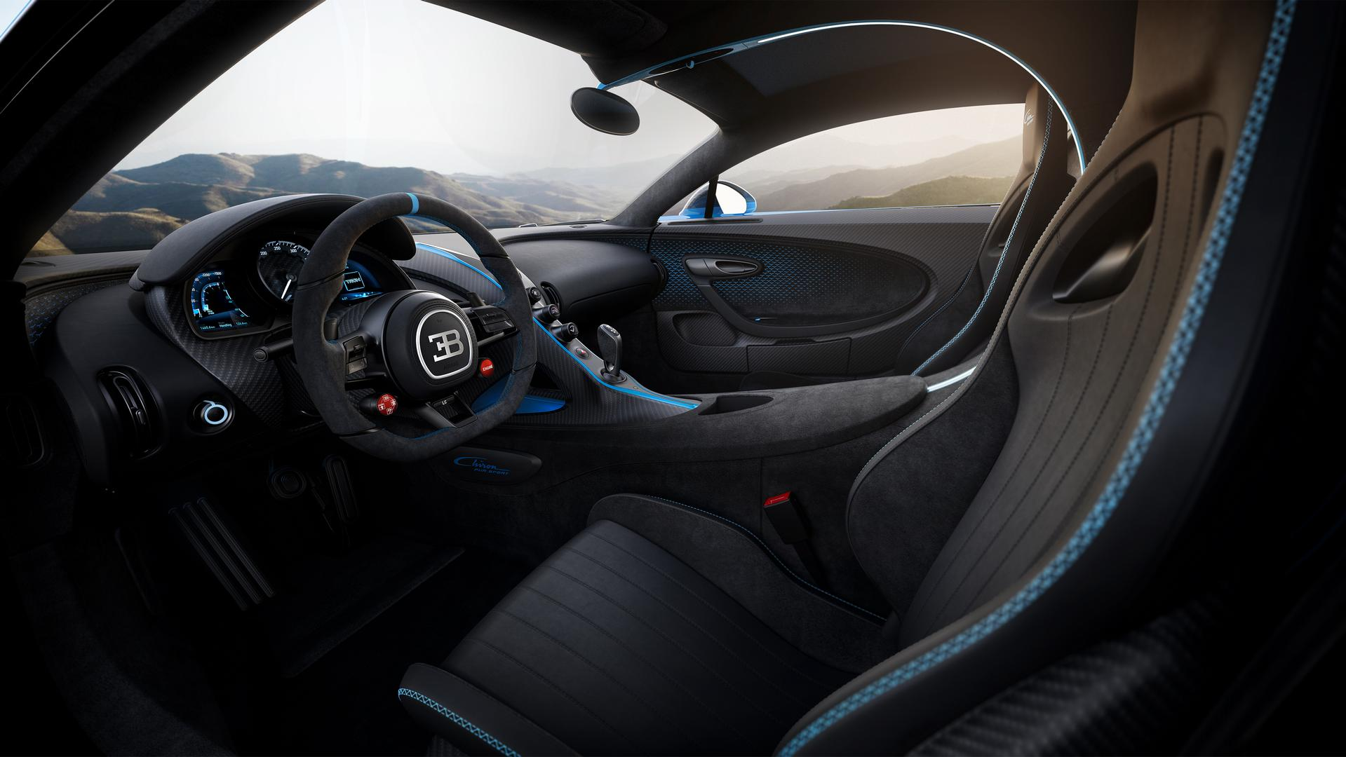 Bugatti Chiron Pur Sport Seats