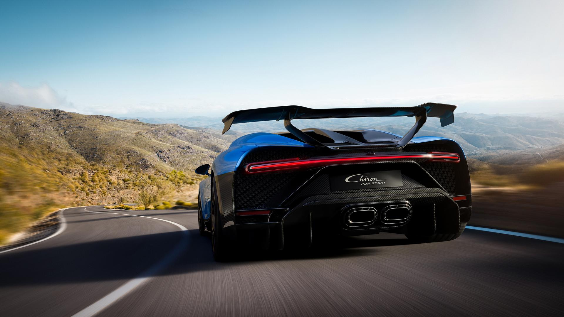 Bugatti Chiron Pur Sport Specs