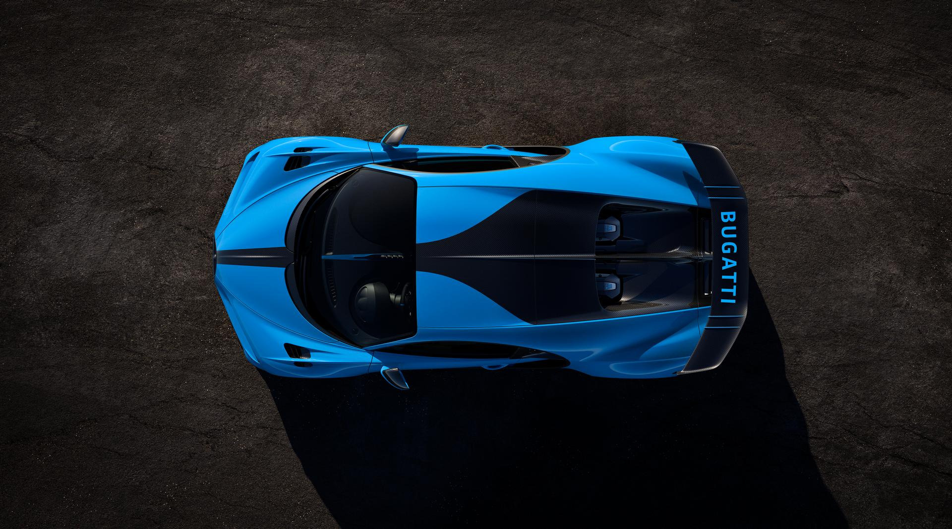 Bugatti Chiron Pur Sport Top