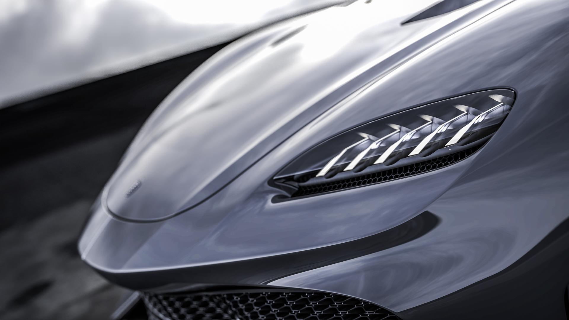 Koenigsegg Gemera Headlight