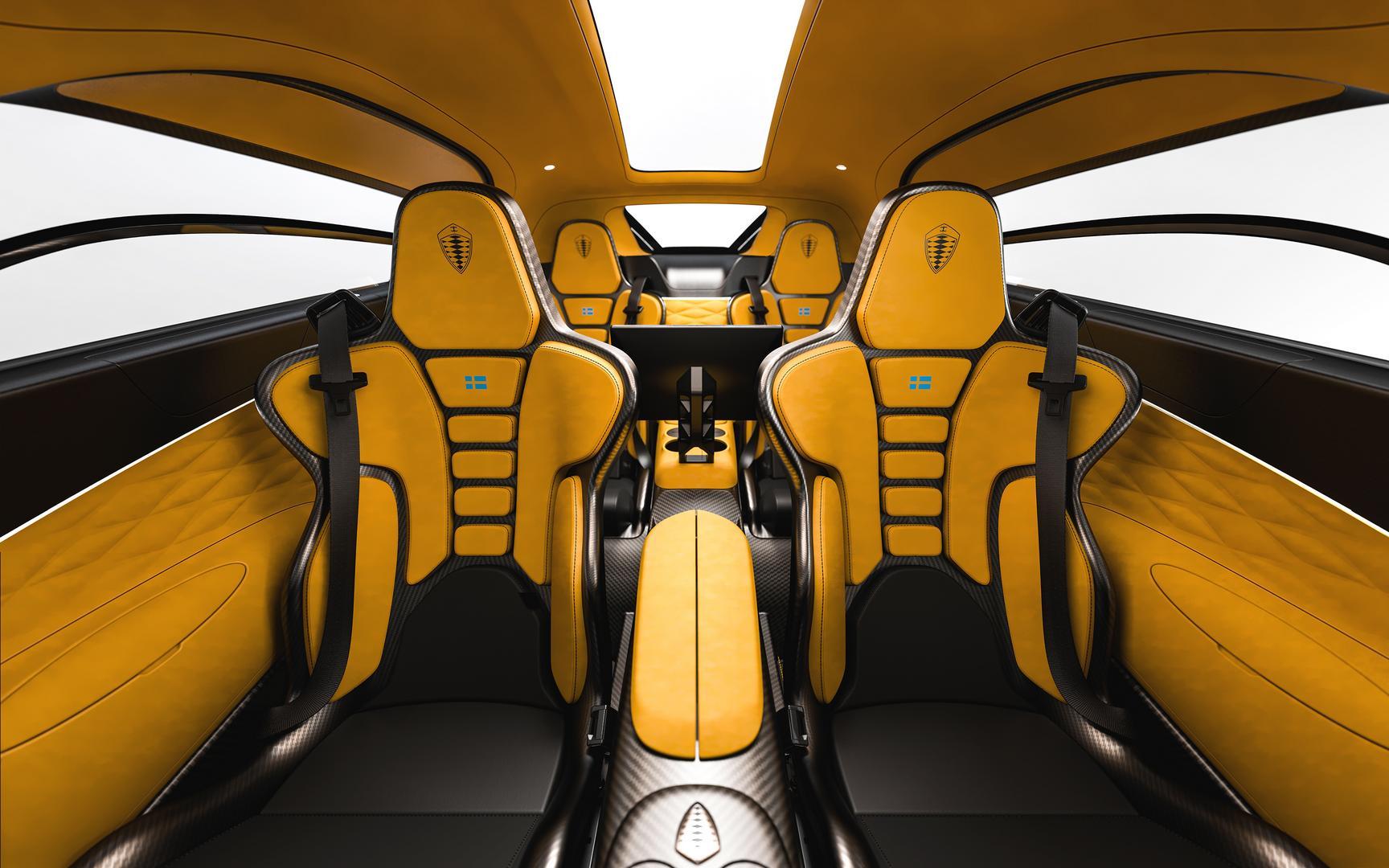 Koenigsegg Gemera Seats