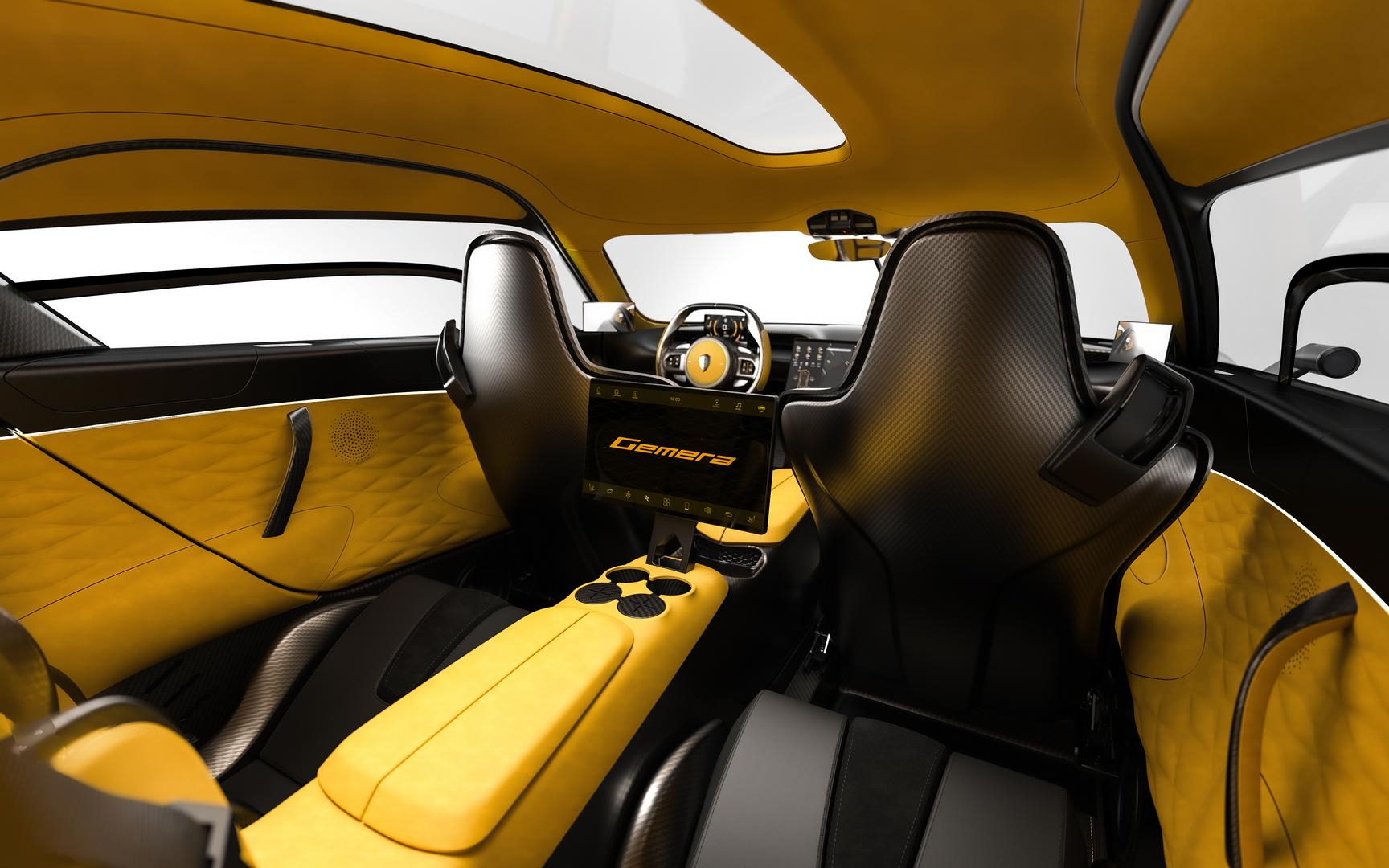 Koenigsegg Gemera Rear Seats