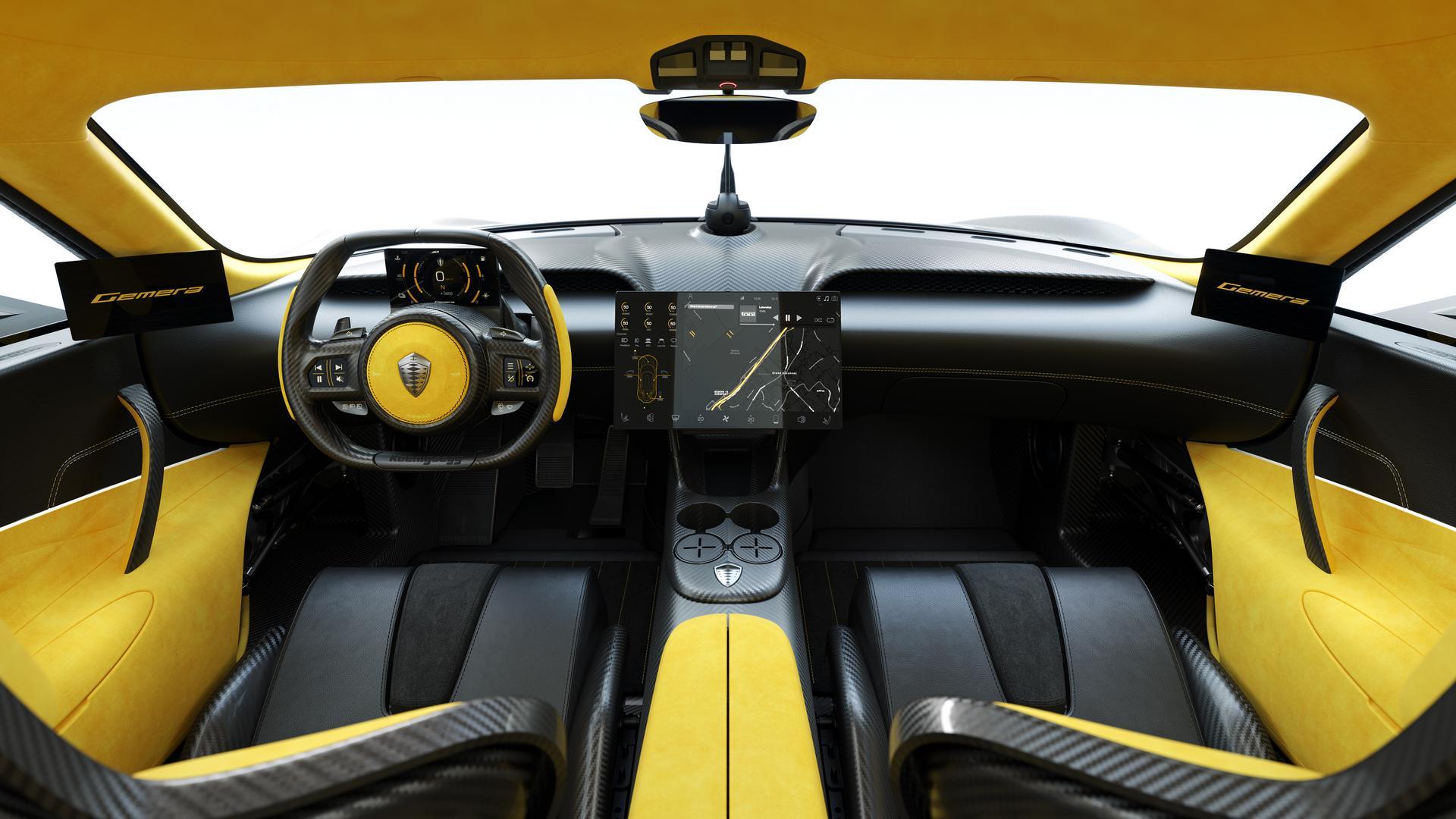 Koenigsegg Gemera Cockpit