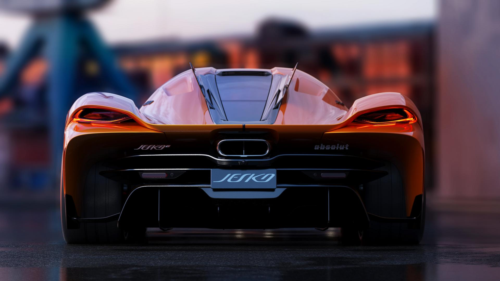 Koenigsegg Jesko Absolut Rear Wing