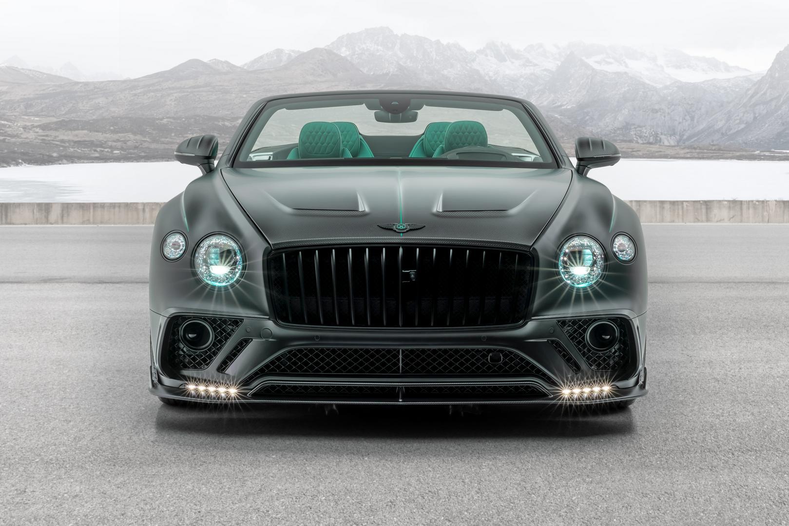 Mansory Bentley Bentayga GTC V8 Front