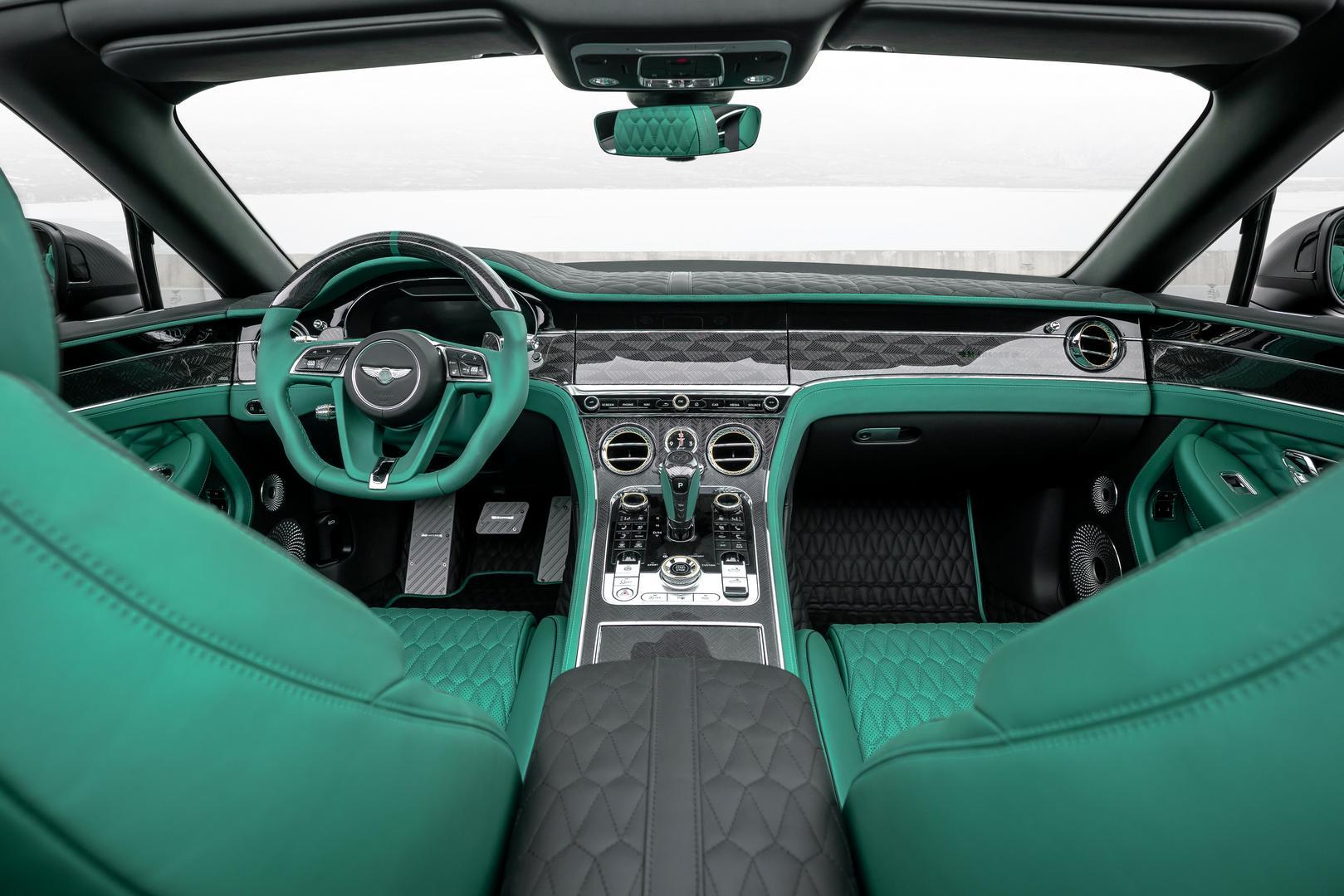 Mansory Bentley Bentayga GTC V8 Interior