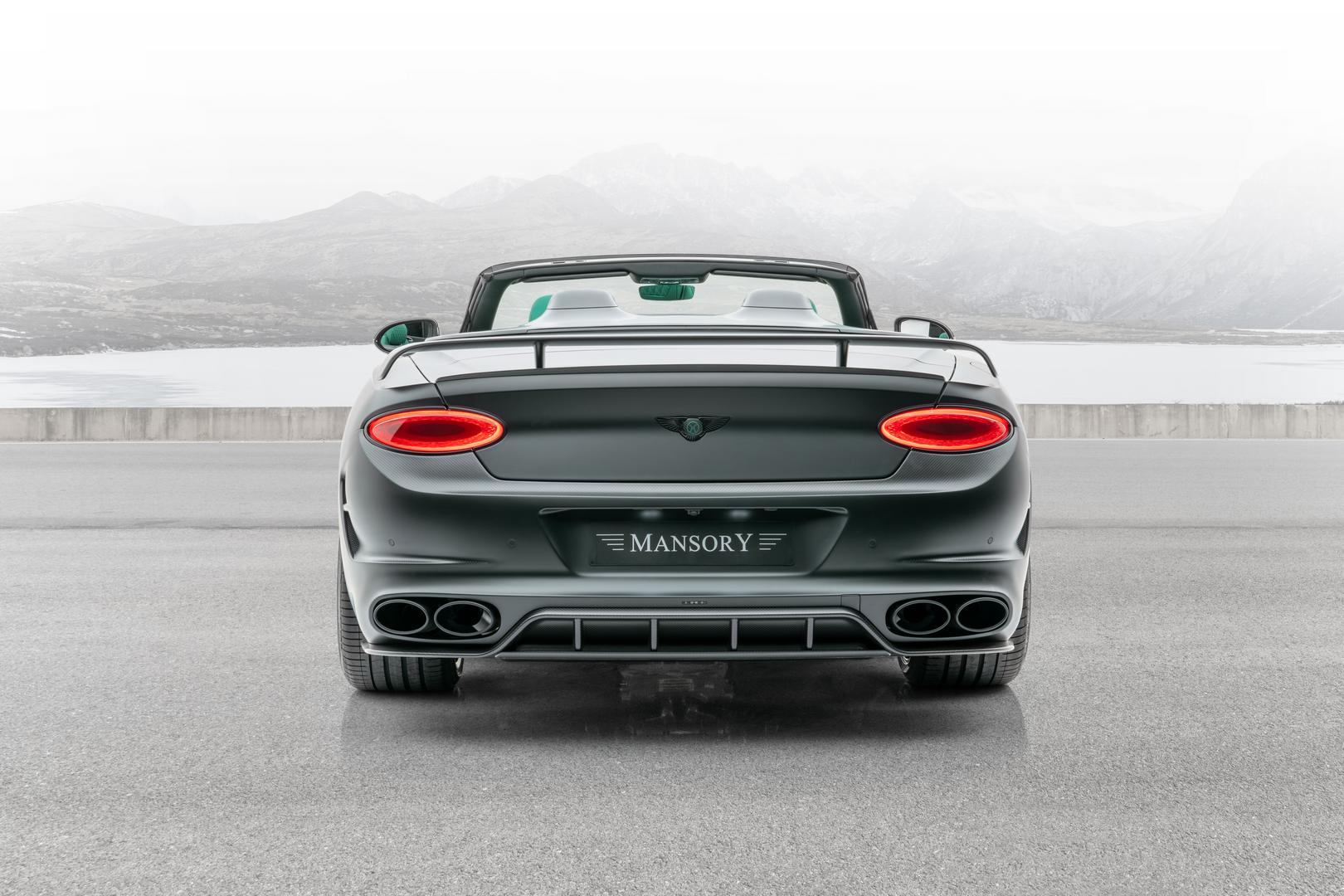 Mansory Bentley Bentayga GTC V8 Rear Lights