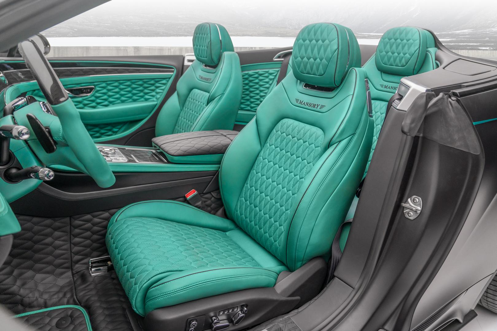 Mansory Bentley Bentayga GTC V8 Seats