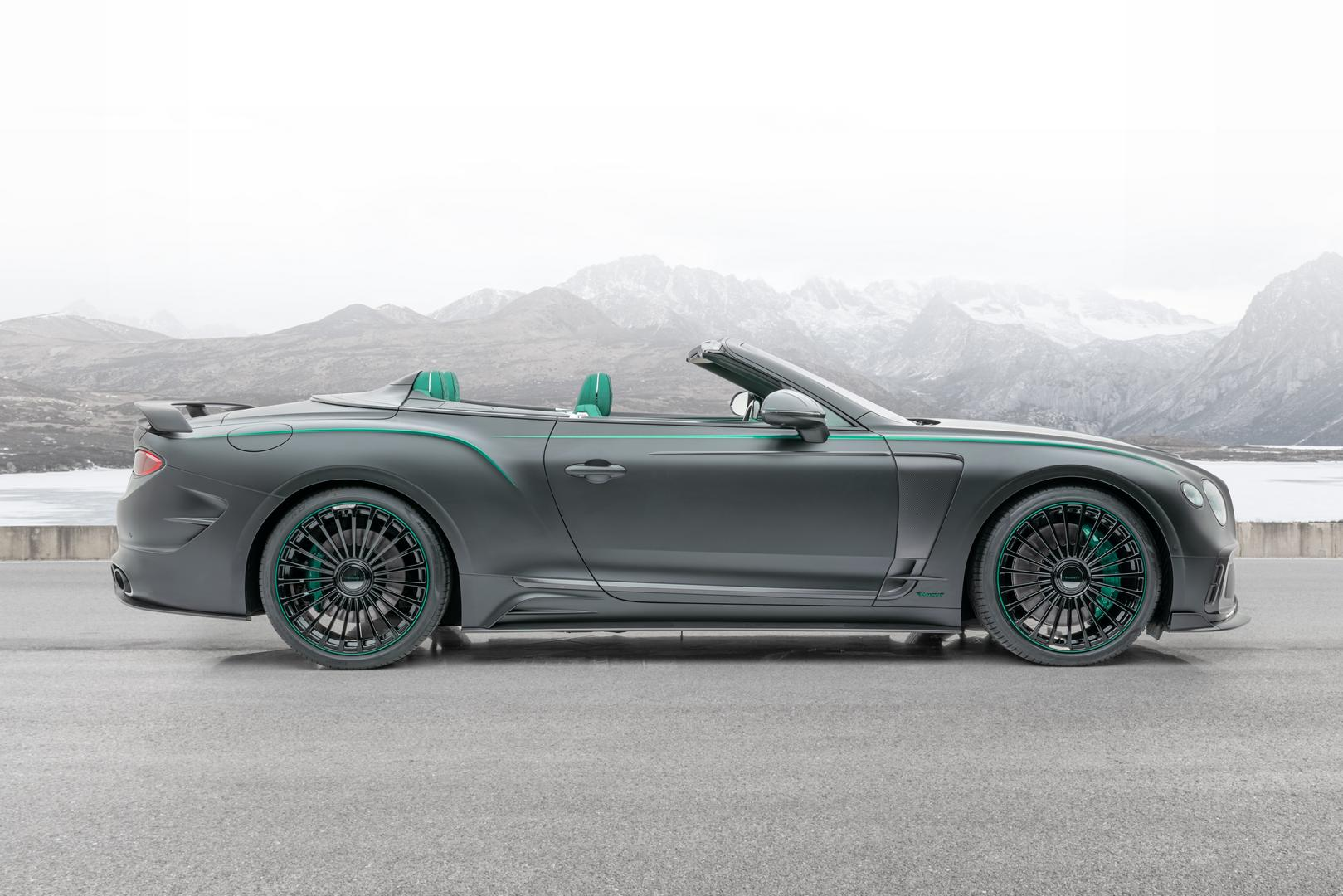 Mansory Bentley Bentayga GTC V8 Side