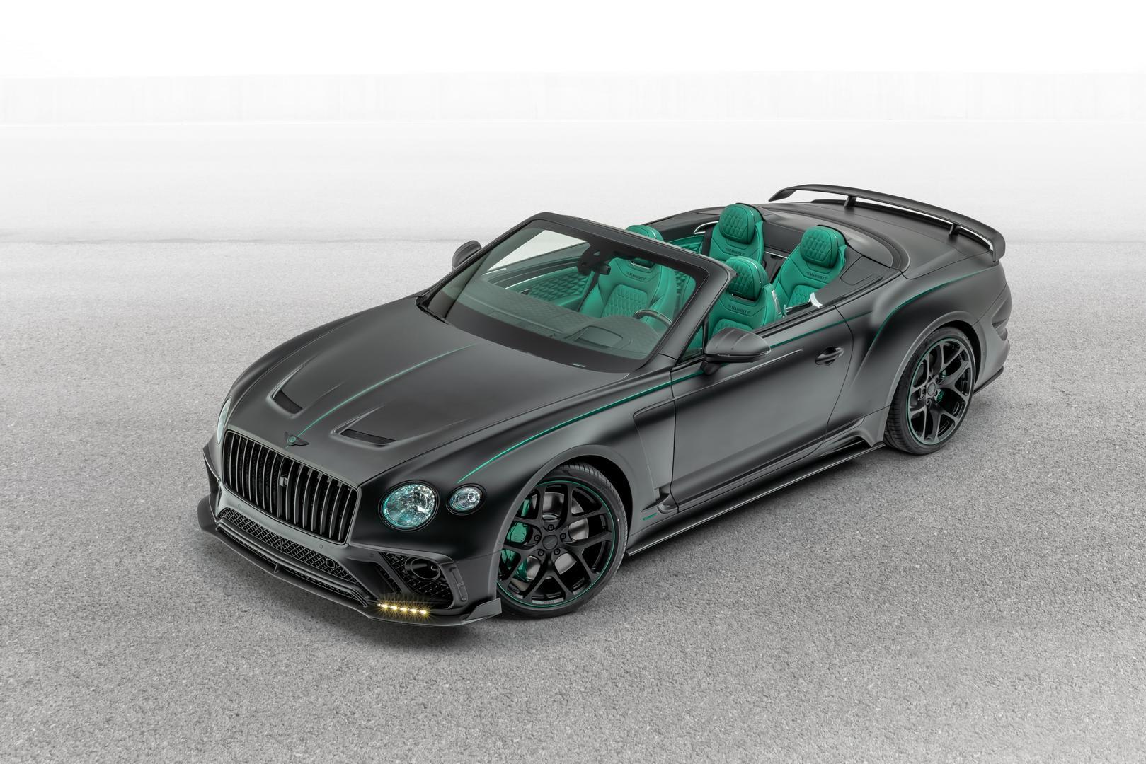 Mansory Bentley Bentayga GTC V8 Specs