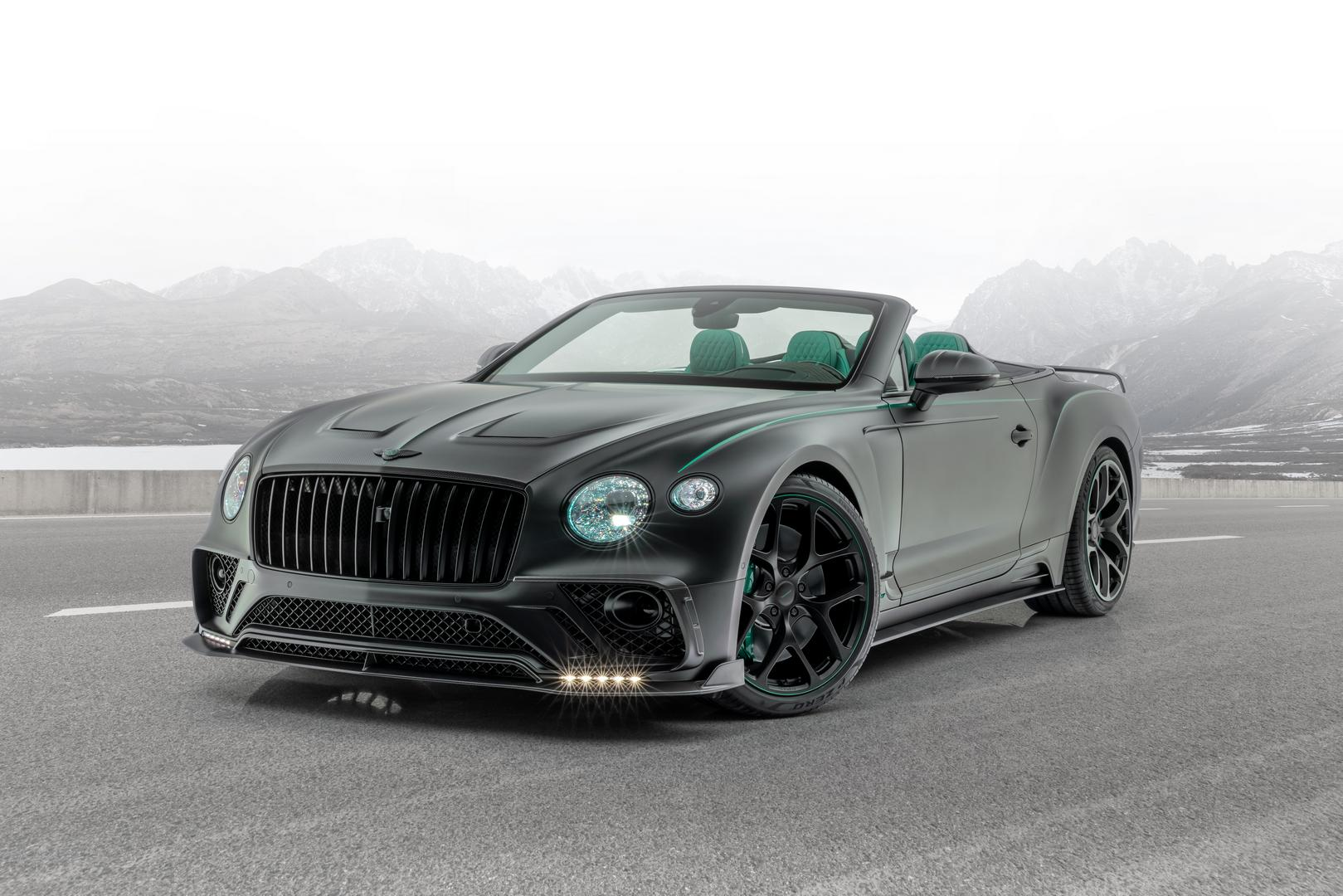 Mansory Reveals Bentley Continental Gt Cabriolet V8 Gtspirit