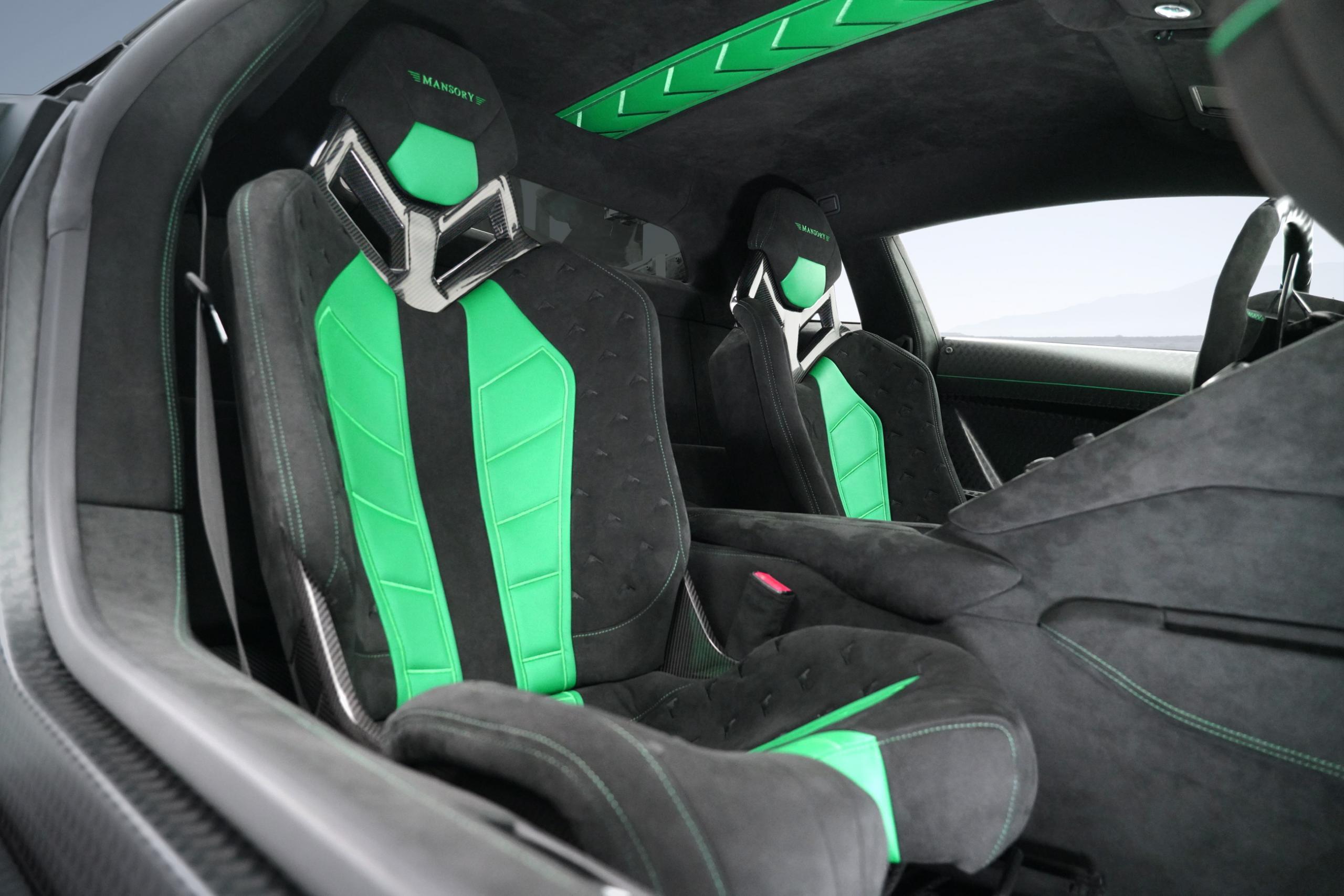 Mansory Lamborghini Aventador SVJ Interior