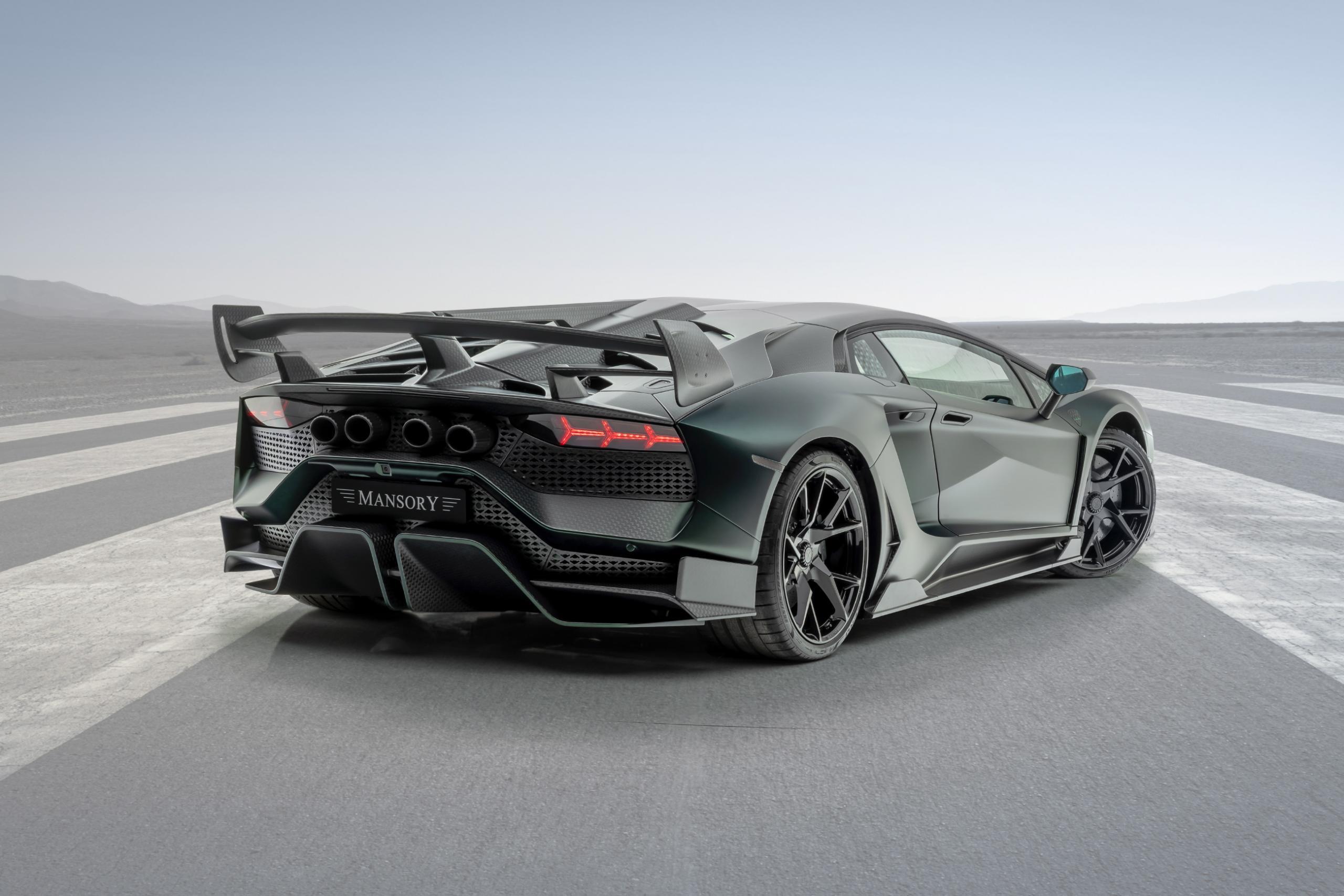 Mansory Lamborghini Aventador SVJ Rear