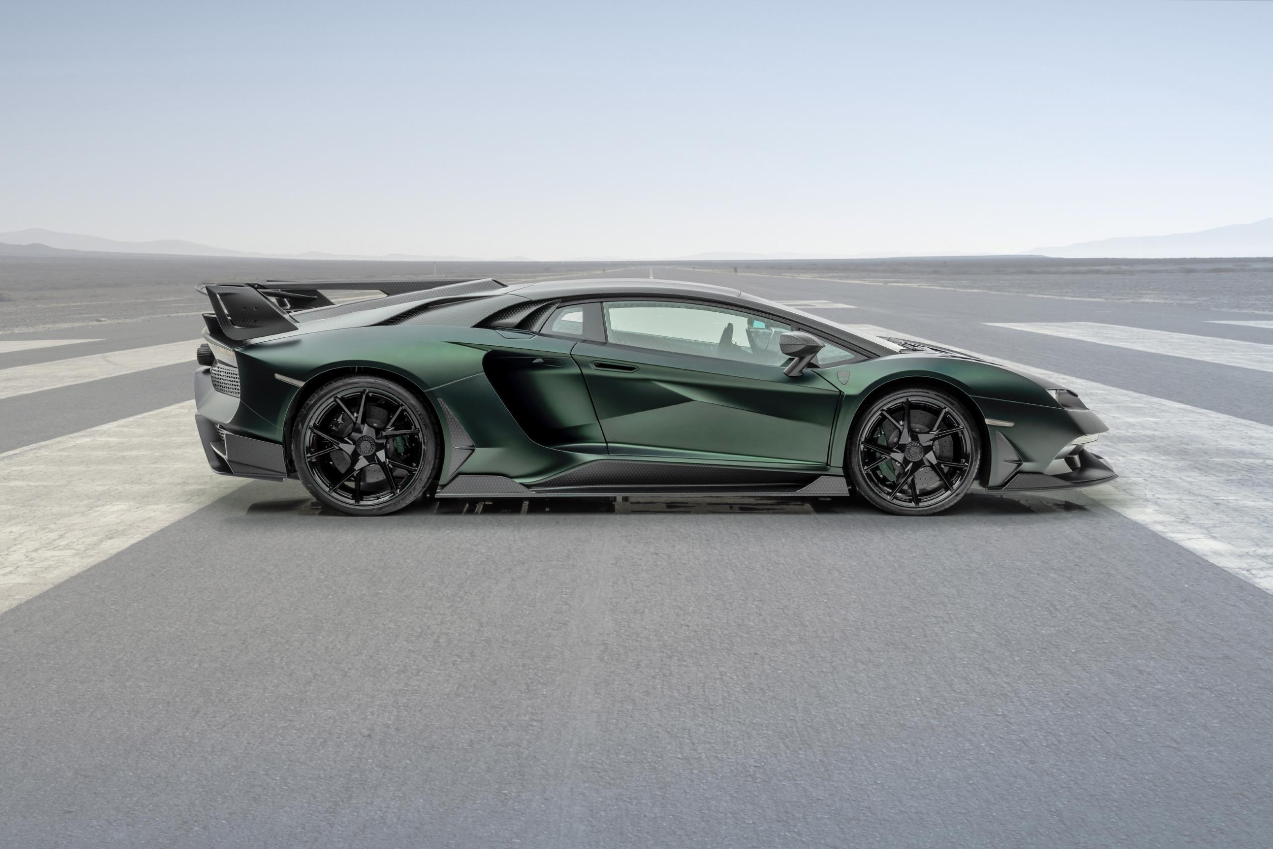 Mansory Lamborghini Aventador SVJ Side