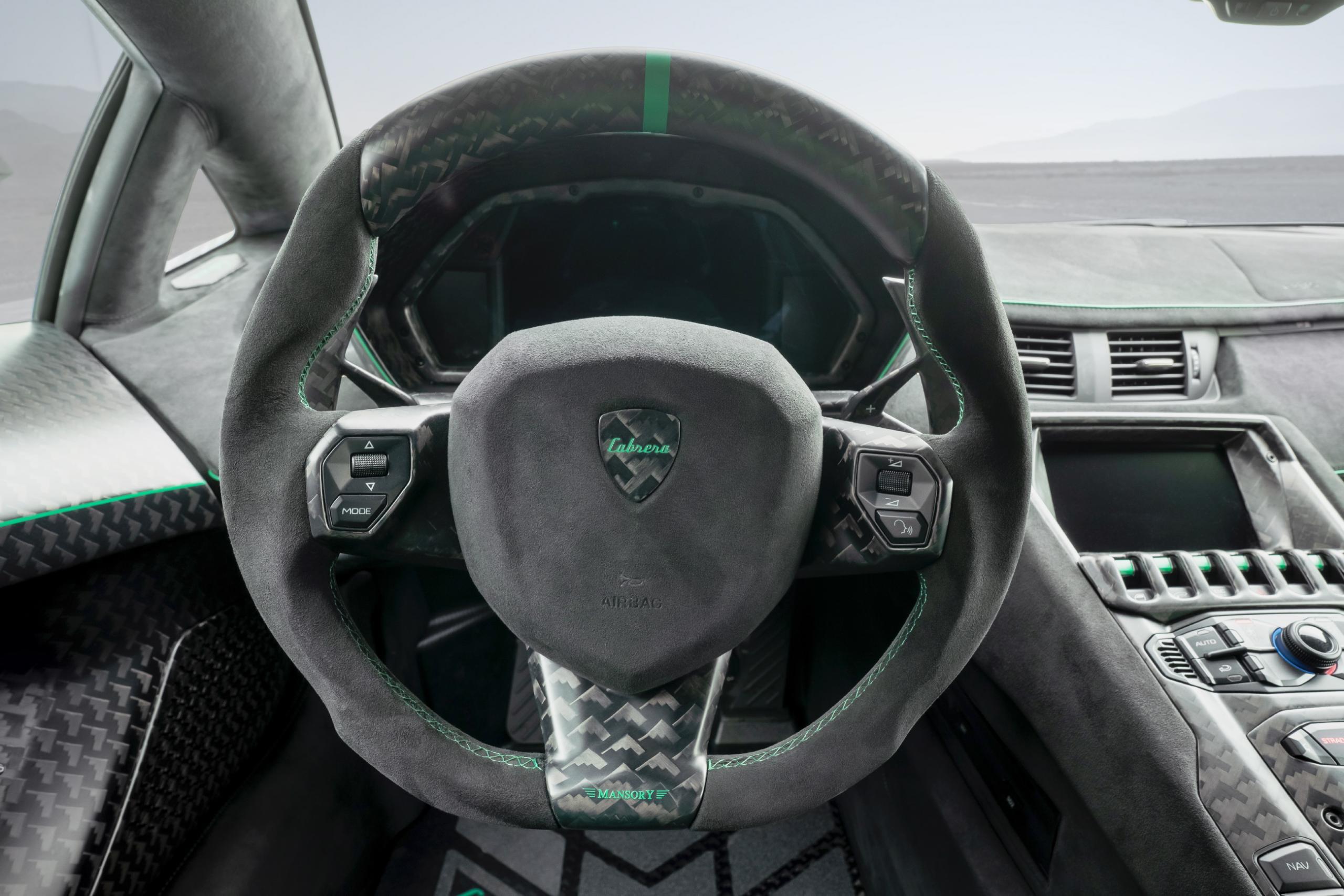 Mansory Lamborghini Aventador SVJ Steering Wheel