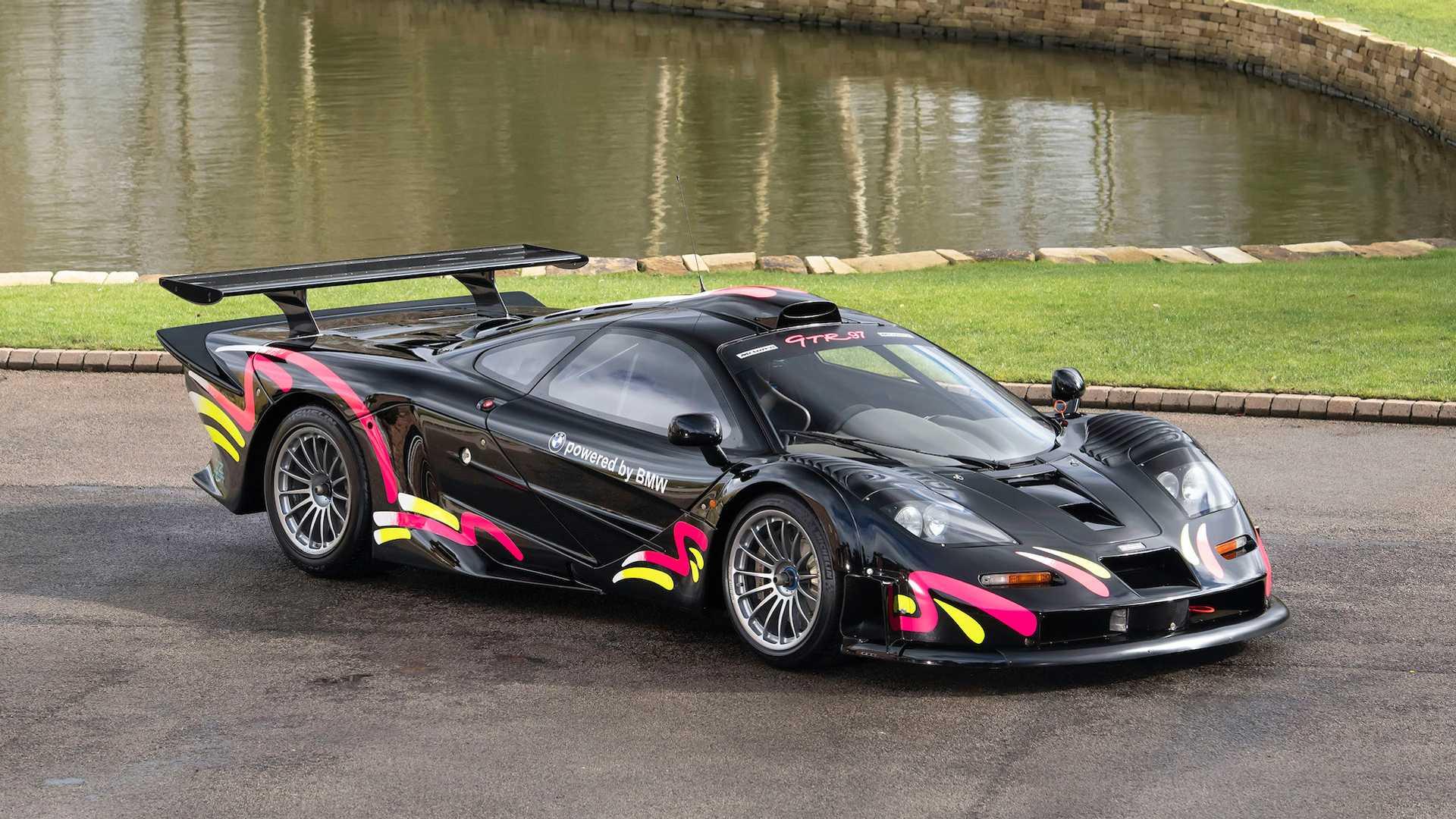 McLaren F1 GTR Longtail Livery