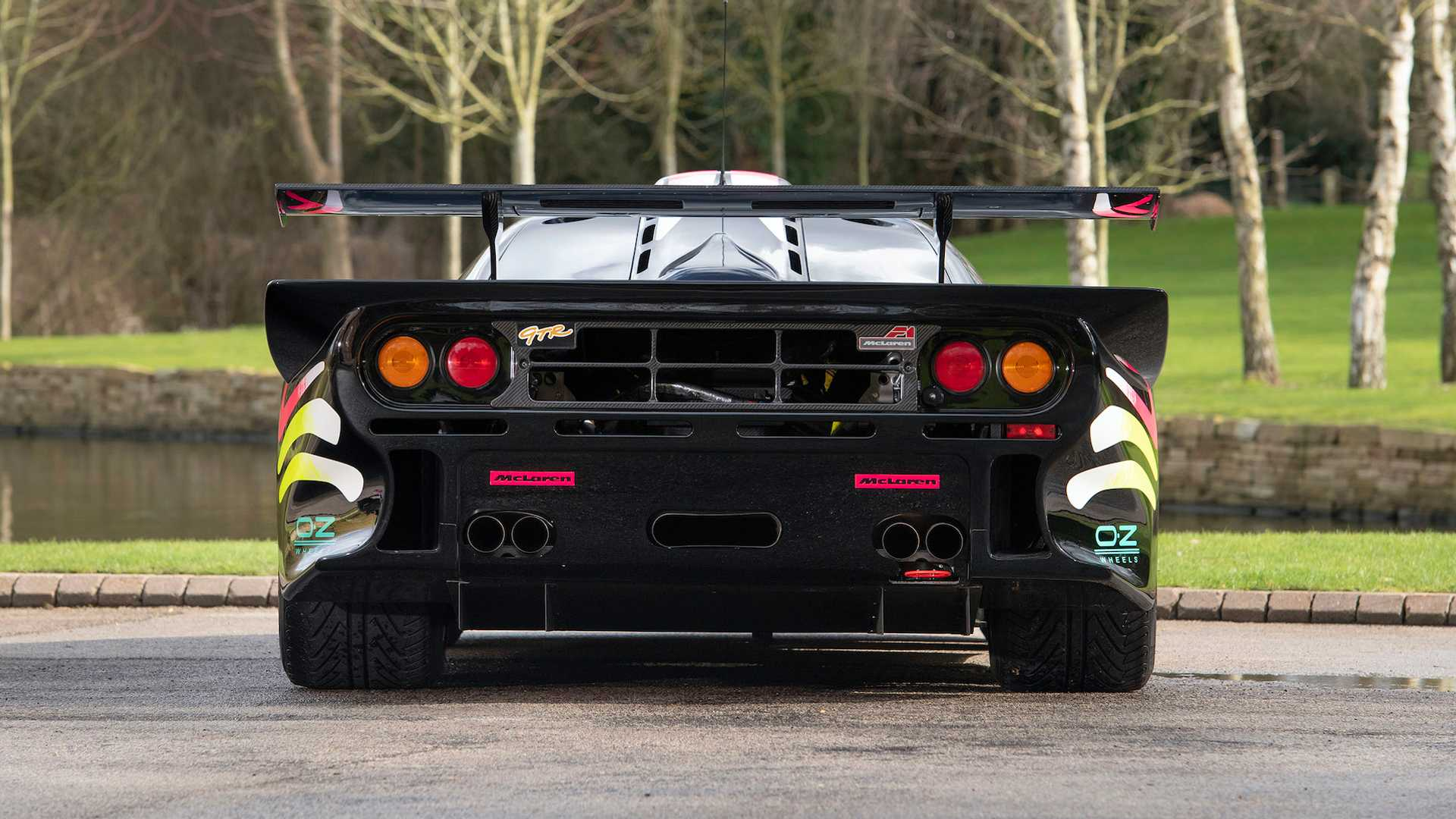 McLaren F1 GTR Longtail Rear