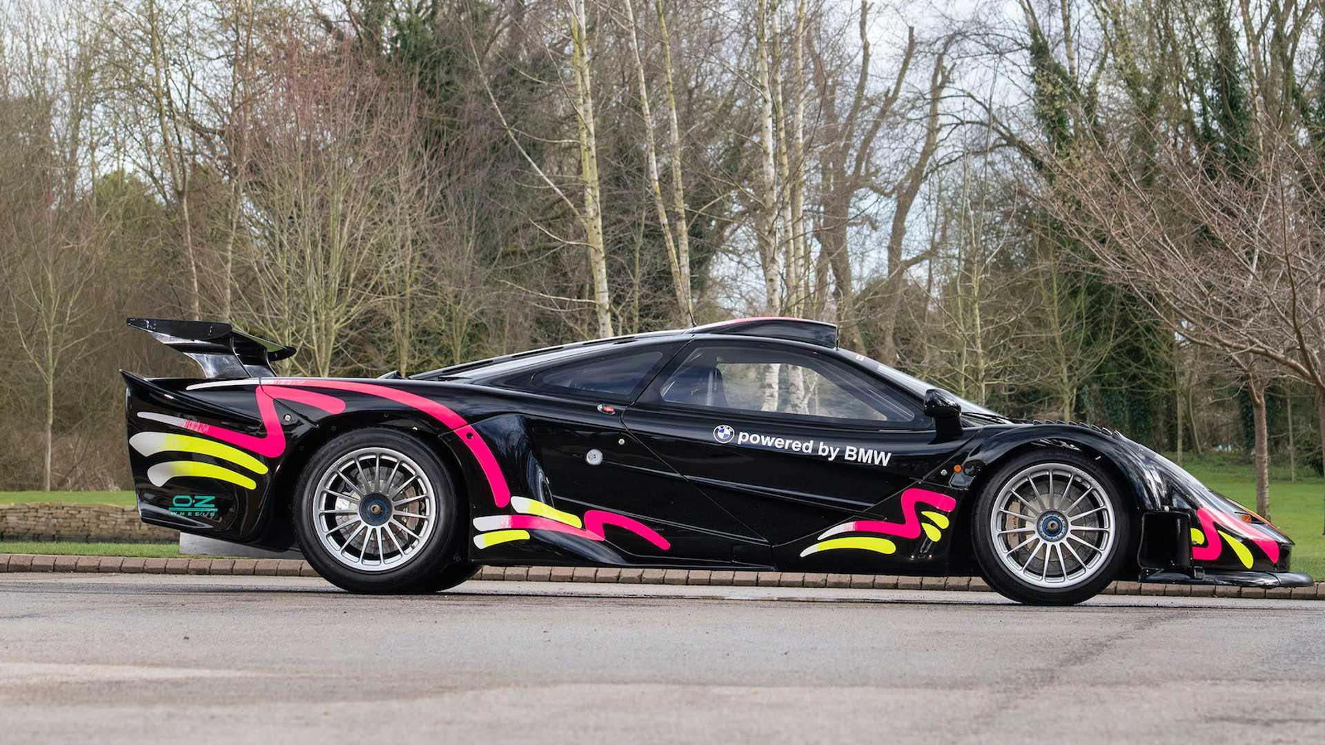 McLaren F1 GTR Longtail Side View