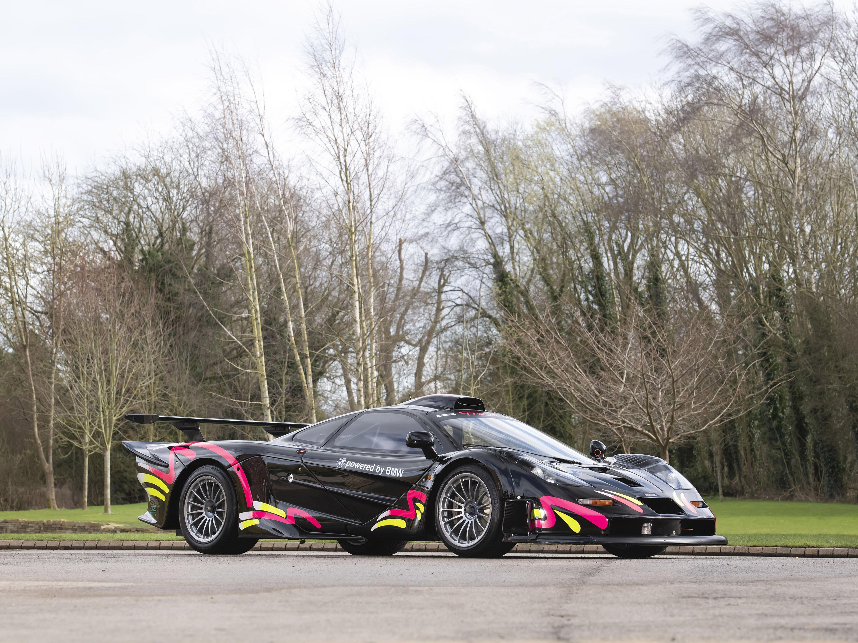 McLaren F1 GTR Longtail Side