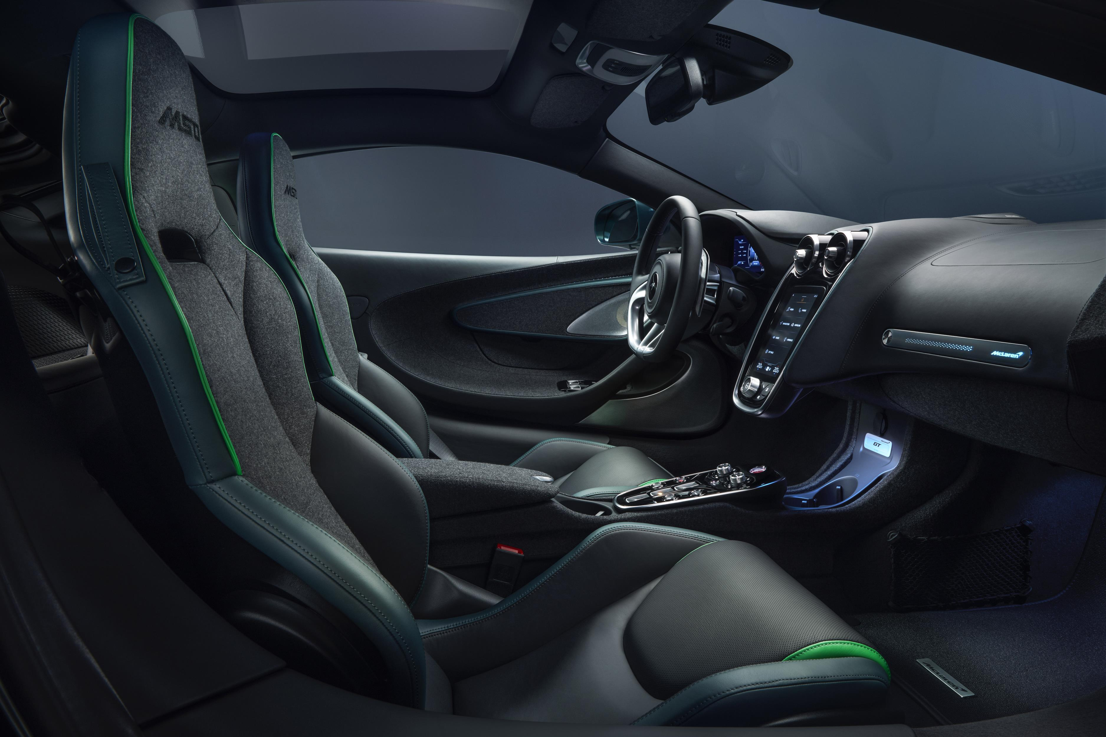 McLaren GT Verdant Theme Interior