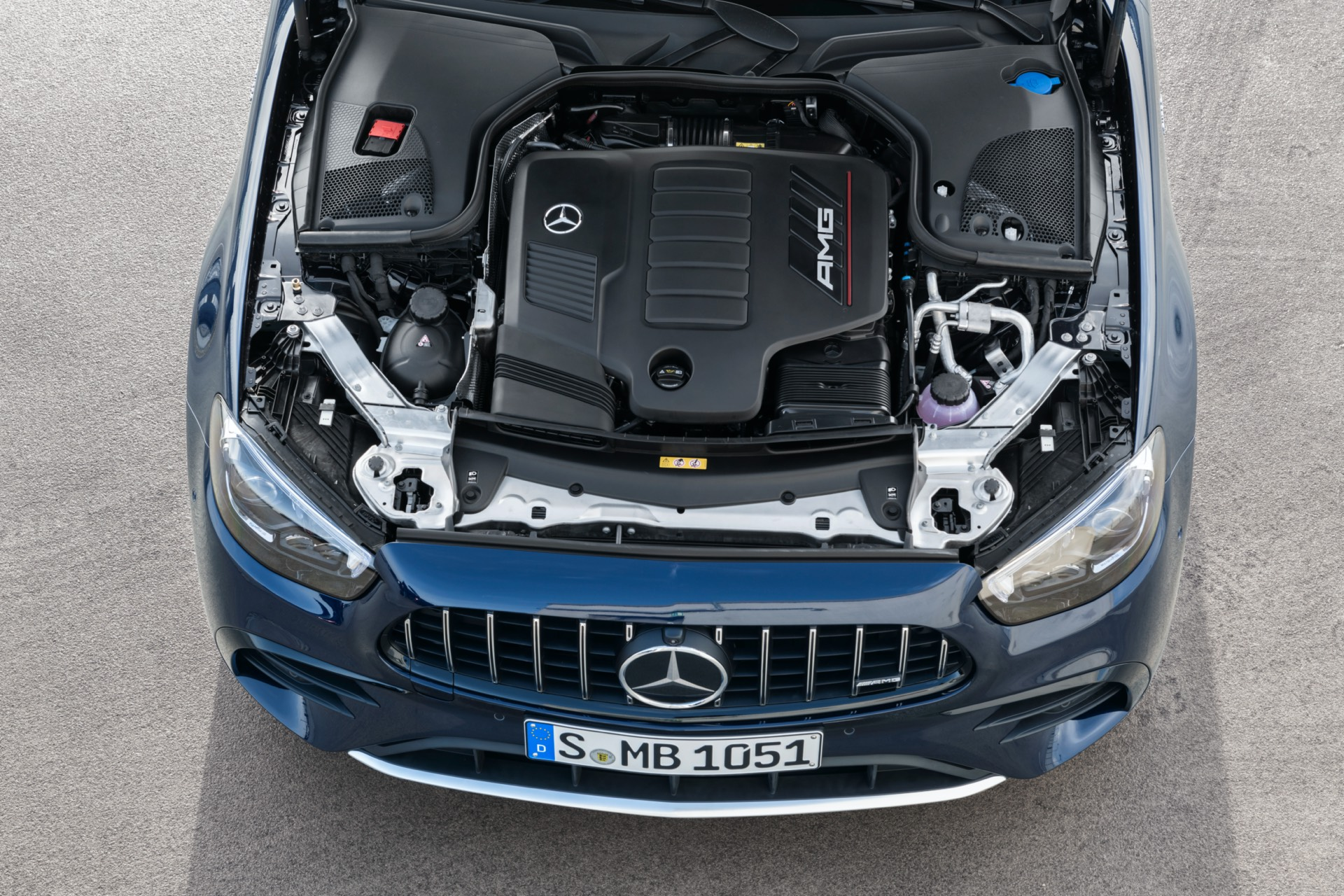 Mercedes-AMG E 53 Estate Facelift Engine